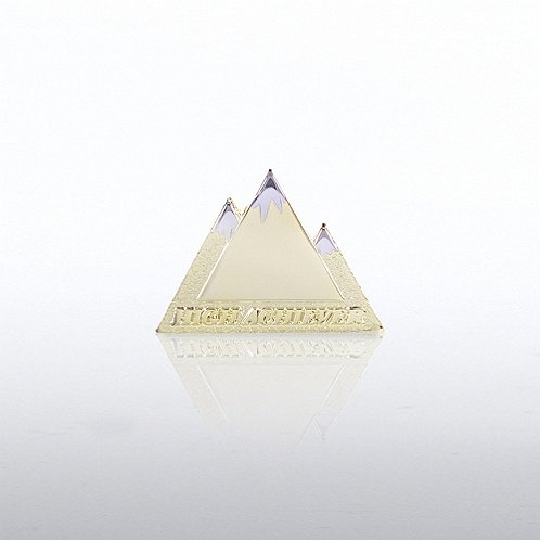 High Achiever Mountain Lapel Pin