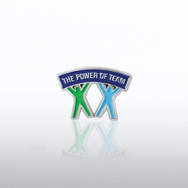 Lapel Pin - People Banner