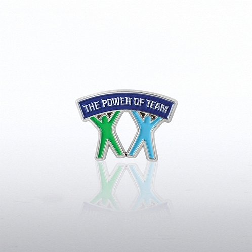 People Banner Lapel Pin