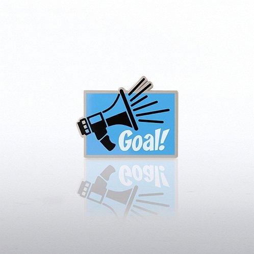 Goal Lapel Pin