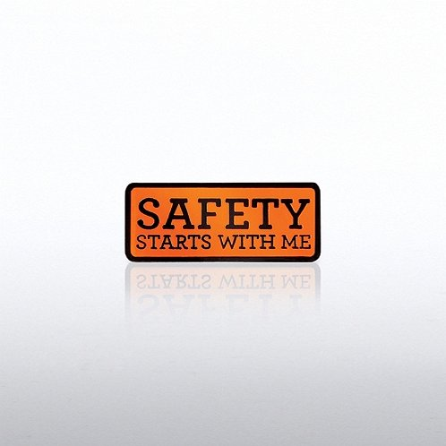Safety Starts with Me Lapel Pin
