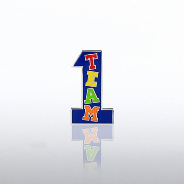 Lapel Pin - Team Number One