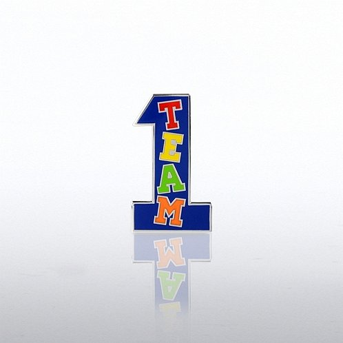 Team Number One Lapel Pin