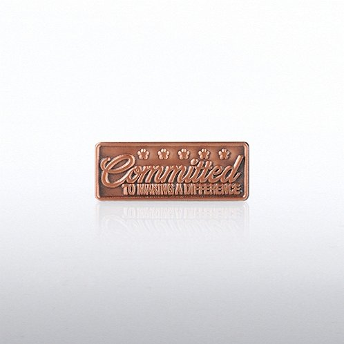 Committed to Making a Difference Lapel Pin