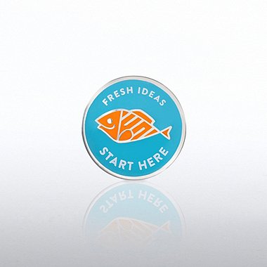 Lapel Pin - Fresh Ideas Start Here