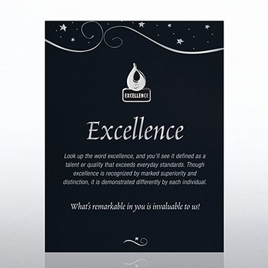 Character Pin - Excellence Flame