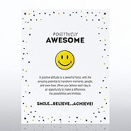 Character Pin - Positively Awesome