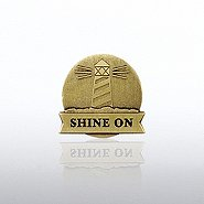Lapel Pin - Lighthouse: Shine On