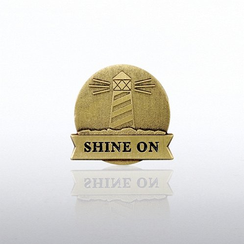 Lighthouse: Shine On Lapel Pin