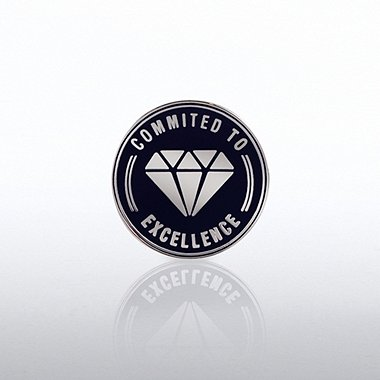 Lapel Pin - Commited to Excellence