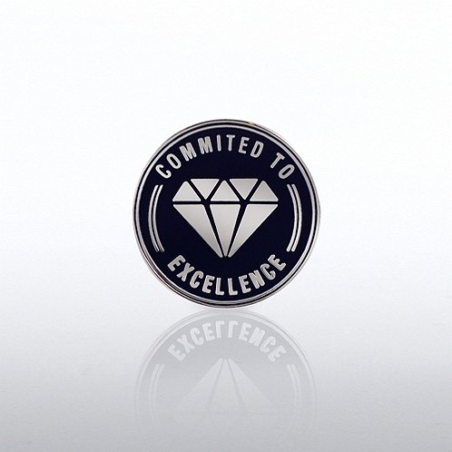 Commited to Excellence Lapel Pin