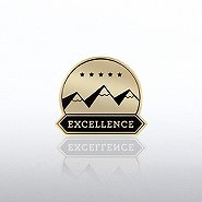 Lapel Pin - Excellence Mountains