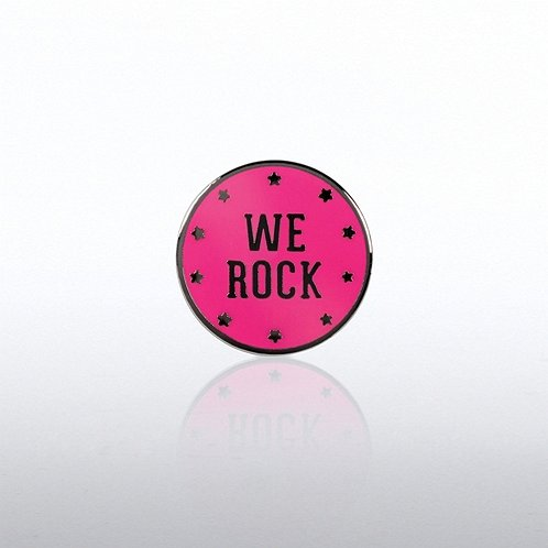 We Rock Lapel Pin