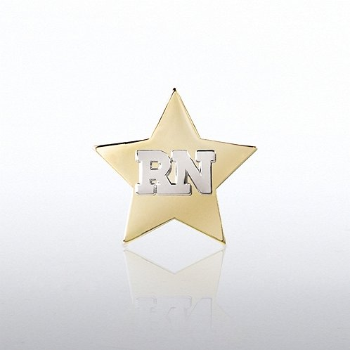 RN Star Lapel Pin