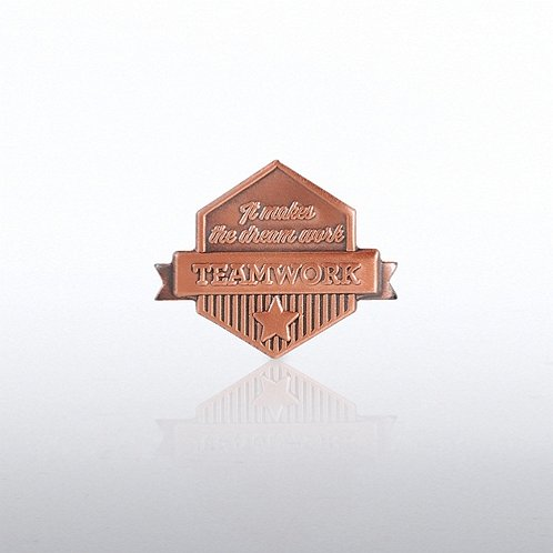 It Makes the Dream Work - Teamwork Lapel Pin