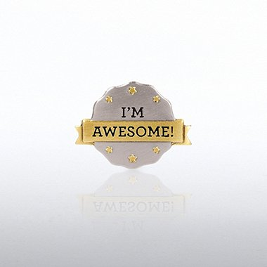 Lapel Pin - I'm Awesome