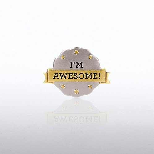 I'm Awesome Lapel Pin