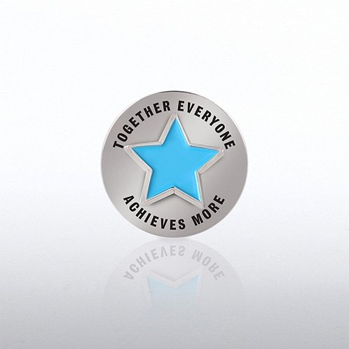 TEAM Star Bobble Lapel Pin