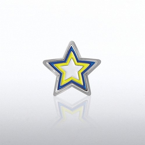 Star Bobble Lapel Pin