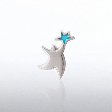Lapel Pin - Translucent Star Guy