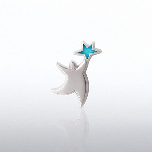 Translucent Star Guy Lapel Pin