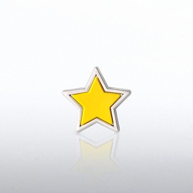 PVC Lapel Pin - Star