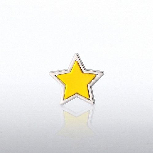 Star PVC Lapel Pin