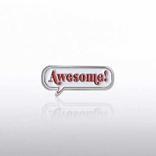 Awesome! Bobble Lapel Pin
