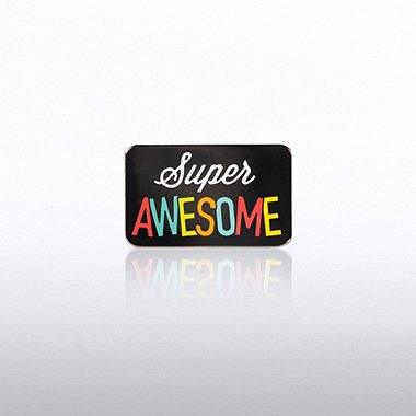 Lapel Pin - Super Awesome