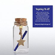 Message in a Bottle - Star: Thank You for Inspiring Us All