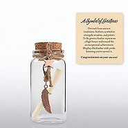Message in a Bottle - Feather: Symbol of Greatness