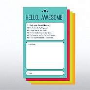 Onboarding Shout-Out Pad - Hello Awesome
