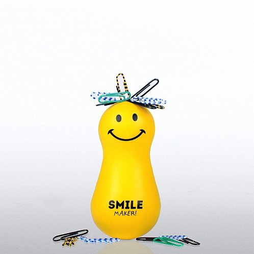 Smile Maker Positively Awesome Paper Clip Bobble Head