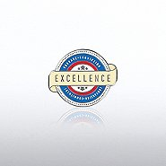Lapel Pin - 4 C's of Excellence Banner