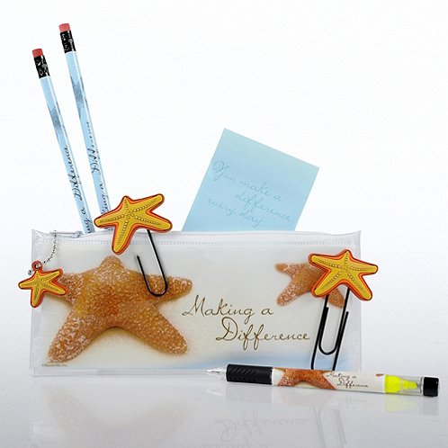 Starfish Making a Difference Office Supply Zip Case