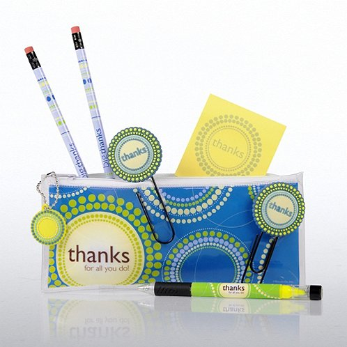 Thanks for All You Do! Office Supply Zip Case