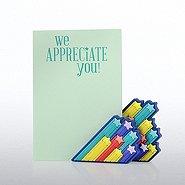 Magnet Photo Holder & Pad Gift Set - We Appreciate You!