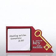 PVC Desktop Sticky Note Set  - Key to Success