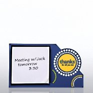 PVC Desktop Sticky Note Set  - Thanks for All You Do
