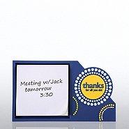 PVC Desktop Sticky Note Set  - Thanks for All You Do
