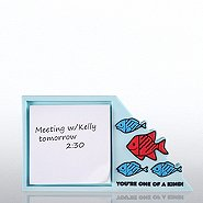 PVC Desktop Sticky Note Set - F.I.S.H You're One of a Kind!