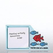PVC Desktop Sticky Note Set - F.I.S.H You're One of a Kind!
