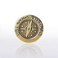 Lapel Pin - Compass - Leading the Way