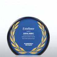 Galaxy Award Trophy - Round Laurel