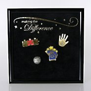 Award Pin Display - Making the Difference