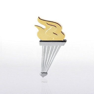 Lapel Pin - Torch