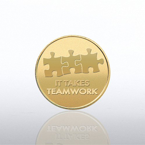 It Takes Teamwork Cheerful Change