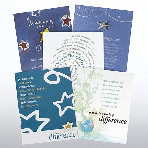 Making the Difference Character Pin Assortment