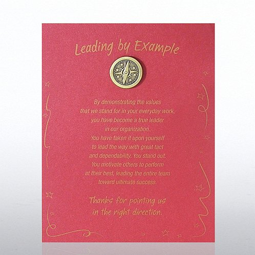 Compass: Leading by Example Character Pin