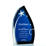 Galaxy Award Trophy - Midnight Star